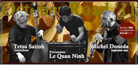 Michel Doneda/Le Quan Ninh/Tetsu Saitoh October Road '11